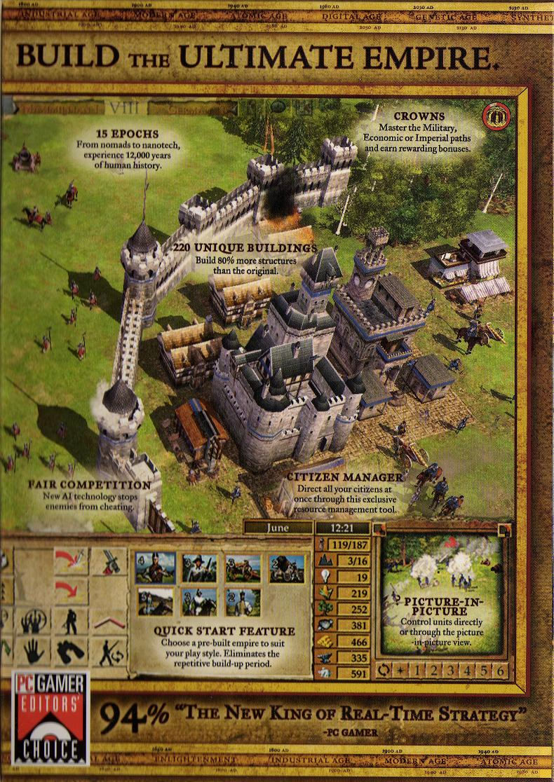 The sierra chest empire earth ii packaging content submitted by gumiabroncs Choice Image